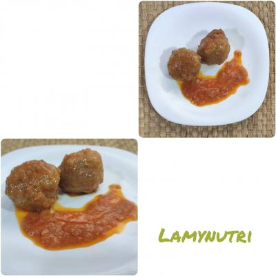 Dietista Nutricionista en Soria: Albóndigas de soja en salas de tomate natural