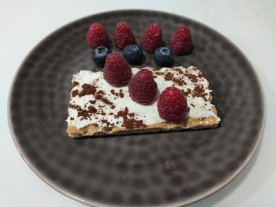 Dietista Nutricionista en Soria: Tostada estilo tiramisú