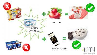 Dietista Nutricionista en Soria: Postre de lácteo saludable